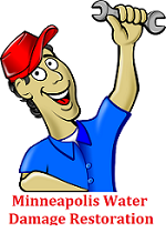 Minneapolis Water Damage Restoration 24/7
